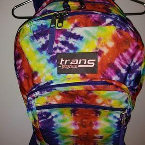 Jansport Trans Hippie Tie Dye Backpack Sport Schoo